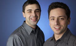 Pendiri Google : Larry Page dan Sergey Brin