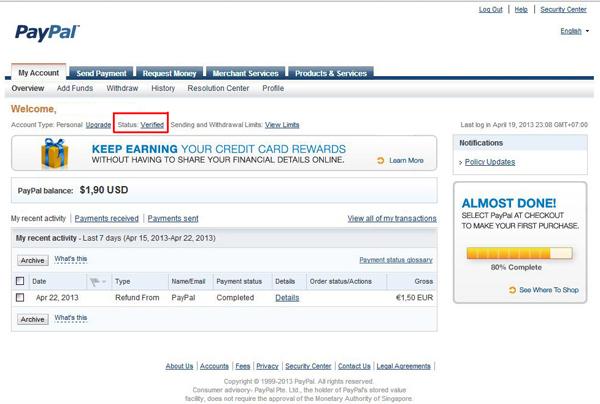 paypal verified murah terpercaya