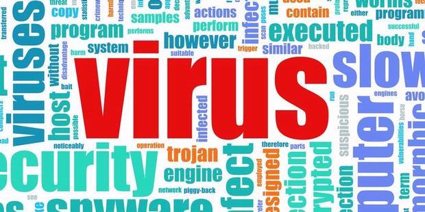 komponen virus komputer