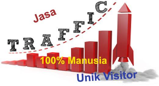 Jasa Trafik Web MURNI MANUSIA 100% Berkualitas BERGARANSI