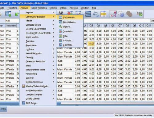 Tutorial SPSS Lengkap Dengan Contoh Cara Olah Data Kuesioner