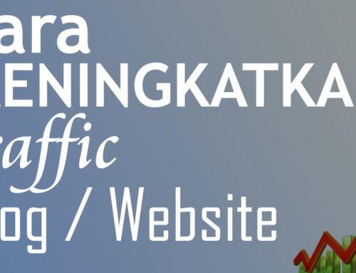 Cara Meningkatkan Traffic Website 1000% SUPER CEPAT !!